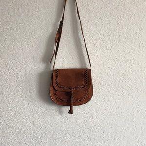 Handbags - Brown Leather Crossbag